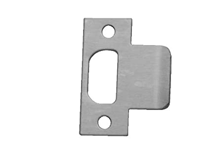 2-1//2 Width x 4-7//8 Height Pack of 5 Don-Jo MEST-125 13 Gauge Steel Mortise Type Extended Lip ANSI Strike 2-1//2 Width x 4-7//8 Height Satin Stainless Steel Finish Pack of 5 MEST-125-630