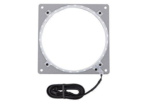 Phanteks Halos Aluminum Frames 140mm fan mounting RGB Motherboard adapter  Anthracite Grey Cooling (PH-FF140RGBA_AG01)