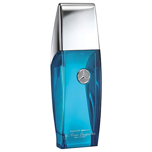 Mercedes Benz | VIP Club Energetic Aromatic | Eau de Toilette | Spray for Men | Aromatic Watery Scent | 3.4 oz (Mercedes Benz Cologne For Men)