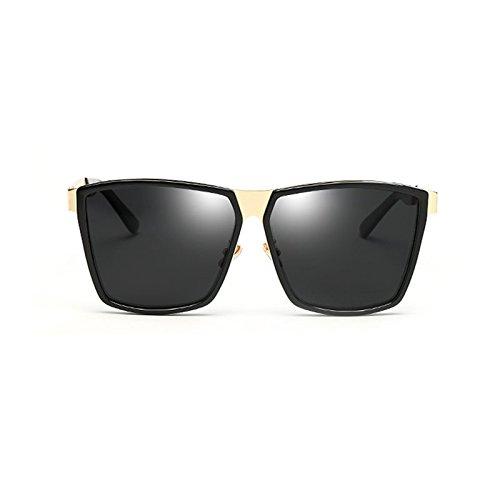 Frame De LIZHIQIANG De Conducción Unisex La Polarizador Metal frame Sol Color Gafas Golden Personalidad Golden brown De Sol Gray Marco Dark Retro Radiación De De Gafas ggCanrxwq7
