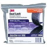 3M TB3550 DUAL LOCK RECLOSABLE FASTENER, BLACK, 25.4MM by 3M