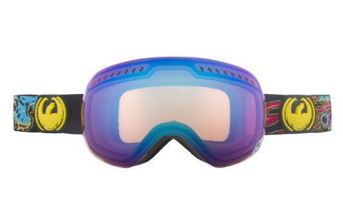 Dragon APXs Goggle Migraine/Blue Ionized, One - Apx Dragon