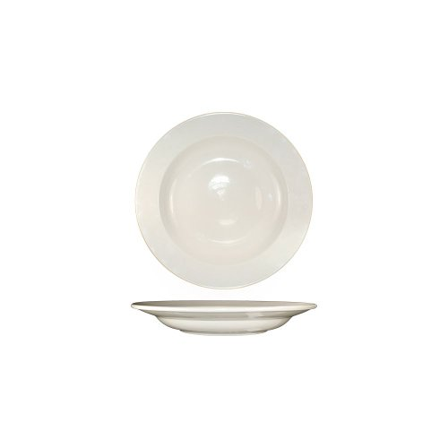 International Tableware RO-116 Roma White 16 Oz. Pasta Bowl - 12 / CS