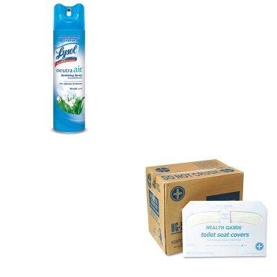 KITHOSHG5000CTRAC76938EA - Value Kit - Health Gards Toilet Seat Covers (HOSHG5000CT) and Neutra Air Fresh Scent (RAC76938EA)
