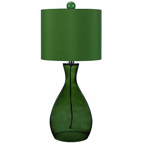 Green Glass Lamp (AF Lighting 8515-TL Mercer Hand-Blown Glass Table Lamp- Green)