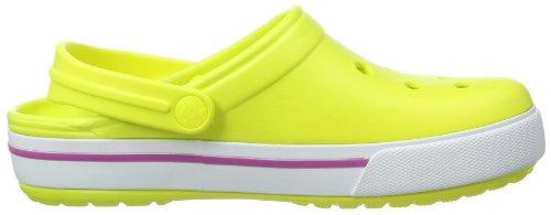 Unisex II Clogs Crocband Vibrant Yellow Green Viola Tennis 5 Crocs Ball Adults' gAn6UqW