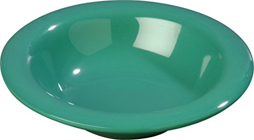 Carlisle 3304009 Sierrus Melamine Rimmed Nappie Bowls, Meadow Green (Set of 48)