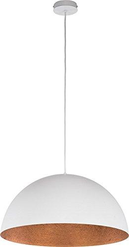579e8b20f2ac4 elbmoebel Industrial ceiling light fixture pendant light in grey gold black  white copper living room bedroom kitchen lighting (White