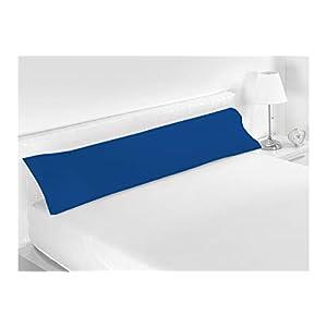 SABANALIA – Funda de Almohada Combina (Disponible en Varios tamaños y Colores), Cama 70-90 x 45, Azul