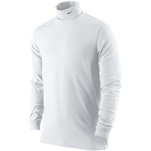 Nike Men's Polo Neck top (Large, White)