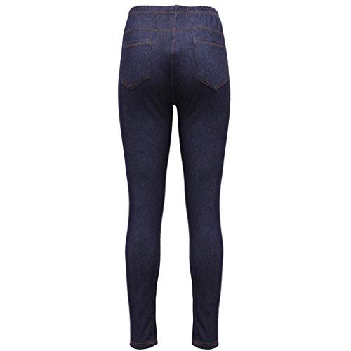 regard DENIM Bleu SKINNY femmes UK jeans grande Marine 26 de 8 lastique taille taille Leggings Jennings EU41UCqx