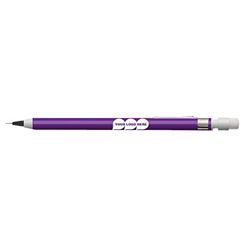 Mechanical Pencil (with clip) - 250 Quantity - $0.60 Each - PROMOTIONAL PRODUCT/BULK / BRANDED with YOUR ()