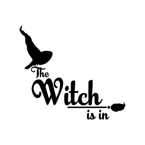 Vinyl Wall Art Decal - The Witch is in - 20