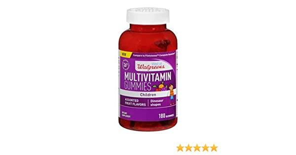 Amazon.com: Walgreens Childrens Multi Gummies With Vitamin D, Fruit, 180 ea: Beauty