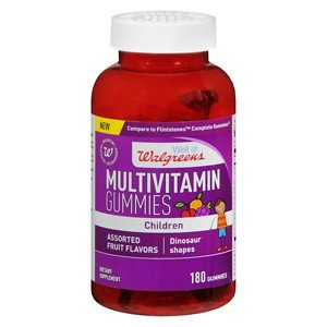 Walgreens Childrens Multi Gummies With Vitamin D, Fruit, ...