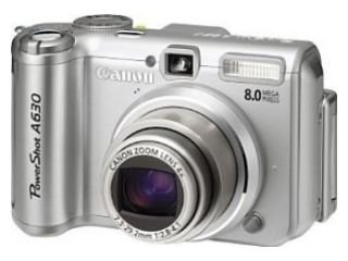 Download Drivers: Canon PowerShot A630 Camera WIA