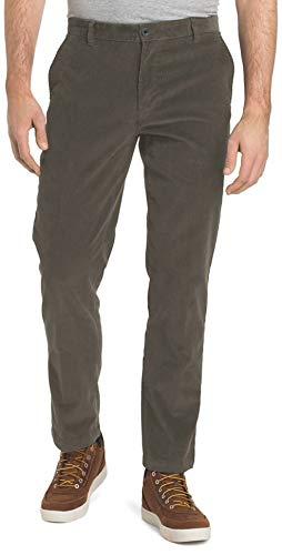 (IZOD Men's Tailgate Corduroy Pants (Smoked Pearl, 38W x 32L))