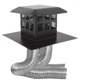 Direct Vent Chimney Pipe - DuraVent 46DVA-CL33P 4