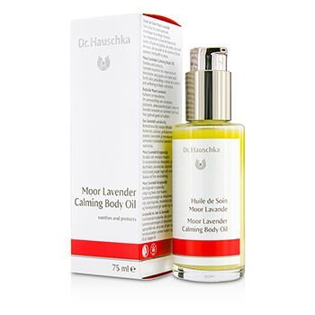 Dr. Hauschka Moor Lavender Calming Body Oil - Soothes & Protects 75ml/2.5oz by Dr. Hauschka (2.5 Ounce Body Oil)