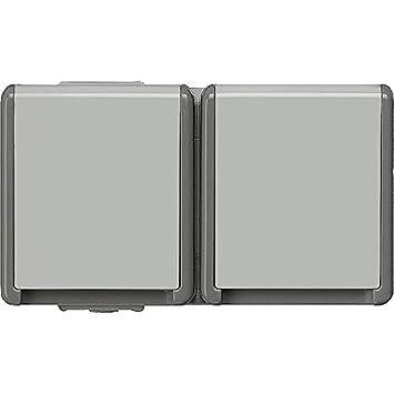 Siemens 5UB4711 Feuchtraum Schuko-Steckdose 1-fach Aufputz IP44