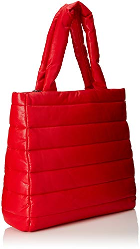 Love Bolsos Mujer Pu rosso Totes Moschino Rojo Borsa 4rwTqa4