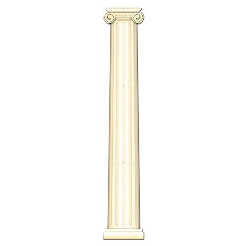 [Jointed Column Pull-Down Cutout Party Accessory (1 count) (1/Pkg)] (Party Decoration Items)