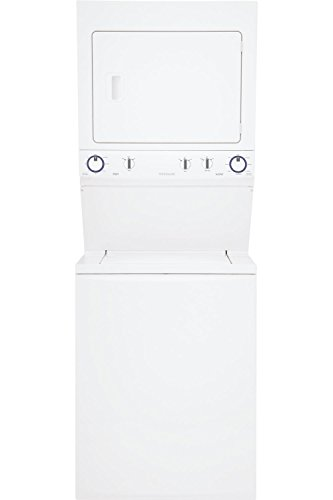 """Frigidaire FFLE3911QW 27"""" Energy Star Certified Washer/Dryer Laundry Center with Super Capacity 8 Multiple Wash Cycles 4 Drying Cycles and Timed Dry Cycles in from Frigidaire"""