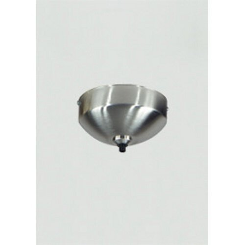 """Tech Lighting 700FJSF4S,  Freejack, 4"""" Round Ceiling/Wall Surface Canopy, Satin Nickel"""
