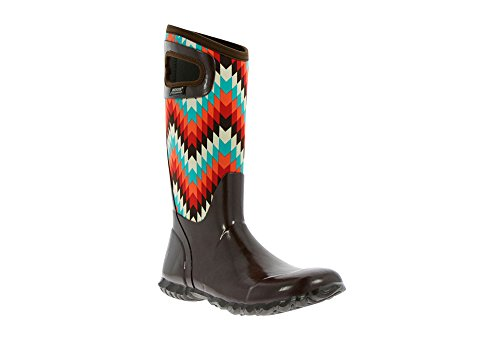 Bogs Muck Boots Womens Hampton Native Insulated Choc Multi 7