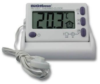 Brannan Electronic Indoor Outdoor Thermometer by Brannan