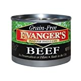 Evanger's Grain Free Beef – 24×6 oz Review