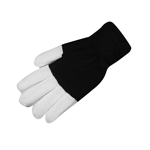 1 paire LED Dancing Gloves Party Light Show Gants Modes clignotants pour fête d'Halloween Bobury