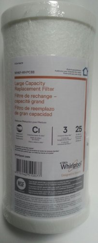 Whirlpool WHKF-WHPCBB Large Capacity Whole House Filter 149016 Carbon