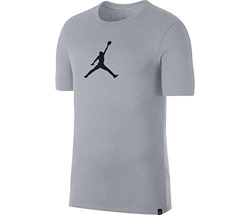 Jordan Dry JMTC 23/7 Jumpman Basketball T-Shirt Mens (Wolf Grey/Black, X-Large)