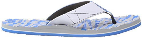 Under Armour UA M Marathon Key T - Zapatos de playa y piscina, Hombre Gris (Alu/Elb/Wht 52)