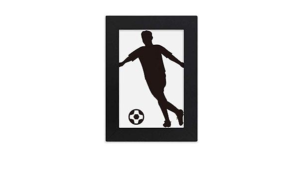DIYthinker Sports Outline Football Soccer Desktop Photo Frame Picture Display Art Painting Exhibit