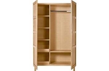 newest collection 659da a40e3 Habitat Radius Double Wardrobe - Oak.: Amazon.co.uk: Kitchen ...