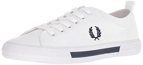 Fred Perry Men Horton Canvas Sneaker White