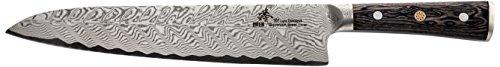 (ZHEN Thunder Series 101 Layers German Damascus Steel Gyuto Chef Knife 9.5-inch)