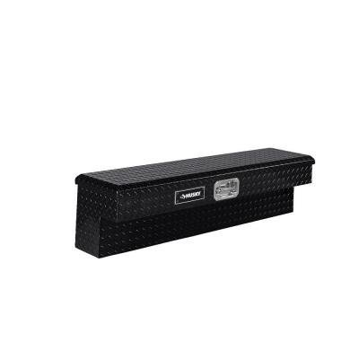 48 in. Aluminum Side Mount Truck Tool Box, Black (Truck Bed Toolbox Clamp compare prices)