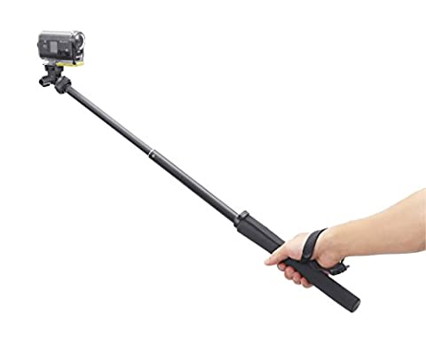 Sony VCTAMP1 Monopod for Action Cam (Black) - Sony 12 Inch