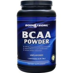 BCAA Powder Unflavored 1320 grams by StrongBody