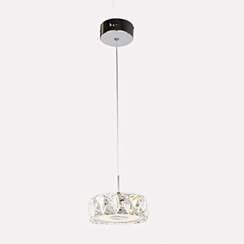 Nclon Chandelier Crystal,Ceiling Light Hanging Fixture Led