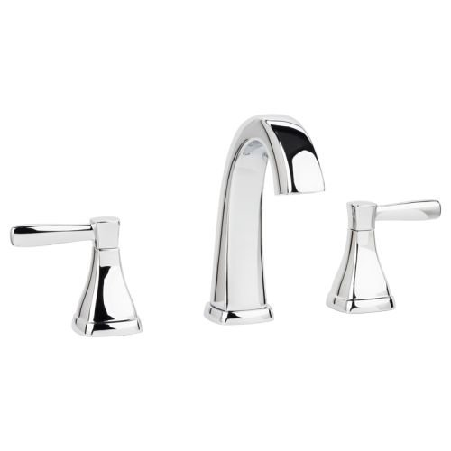 Miseno ML641 Elysa-V Widespread Bathroom Faucet - Includes Push-Pop Drain Assembly, Polished Chrome by Miseno