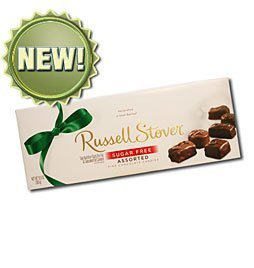 Russell Stover Sugar Free Assorted Chocolate, 8.25-ounce Box by Russell Stover