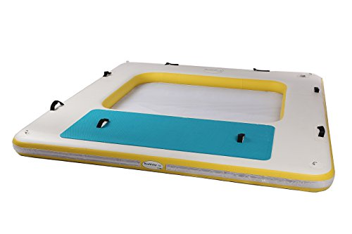 Blue Water Toys BW-L7676S Four Person Square Floating Dec...