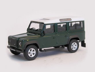 Land Rover Models >> Amazon Com Land Rover Defender 110 Diecast Model Car Toys
