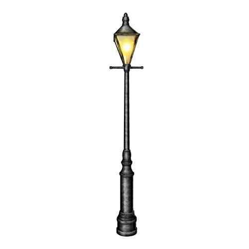 Indoor Lamp Post (Beistle 57789 Cardstock Jointed Lamppost, 6-Feet)