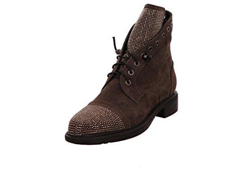 Zapatos negros estilo militar Grafters para mujer cHIVLNuN