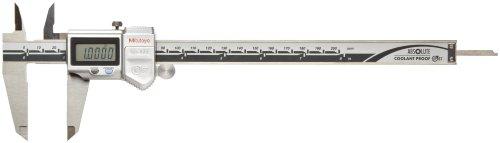 Mitutoyo calibre Digital, Estándar, N/A, 0'/0mm-8'/200mm Range, +/-0.001'/0.01mm Accuracy, 0.0005'/0.01mm Resolution